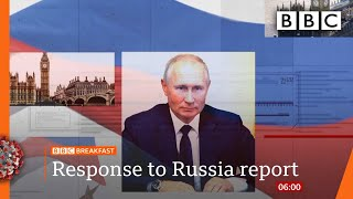 UK considers new spy law after Russia report - Covid-19: Top stories this morning - BBC