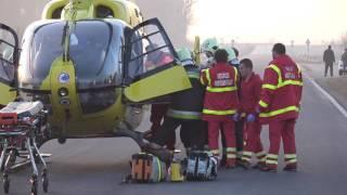 Halálos baleset Sárvárnál - Audi és Saab frontális karambolja