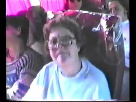1993 - PARAGUAY 2 viaje de Intercambio regreso desde Asuncion a Cordoba.wmv