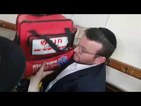 United Hatzalah CEO Teitelbaum in Uman ahead of Rosh Hashanah