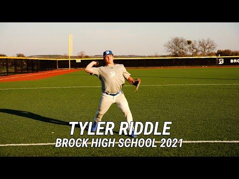 Tyler Riddle   Brock High School 2021