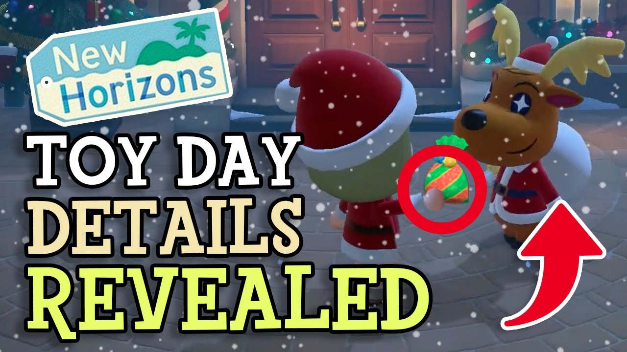 Animal Crossing New Horizons: TOY DAY GUIDE & ITEMS  (Villager Gift Details Revealed) Jingle Eve
