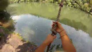 GoPro HD Hero- POV Rope Swing at Peace Rock, Hamburg, PA