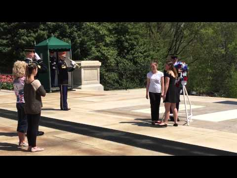 Franklin Regional Middle School Wreath Laying Ceremony Tomb of the Unknown Soldier