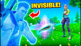 This Glitch makes you Invisible...