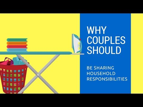 Why Couples Should Share Household Responsibilities