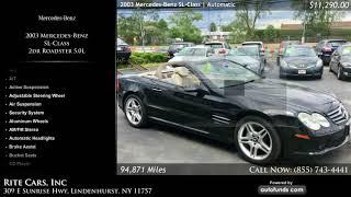 Used 2003 Mercedes-Benz SL-Class   Rite Cars, Inc, Lindenhurst, NY