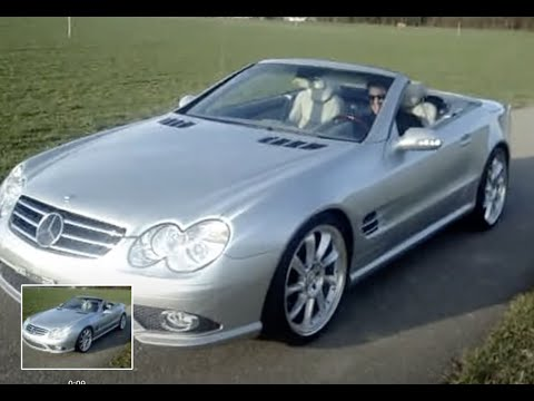 mercedes sl500 amg sl55 cabrio r230 johnny white sound. Black Bedroom Furniture Sets. Home Design Ideas
