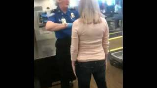 2011 TSA Pat-down of pregnant wife