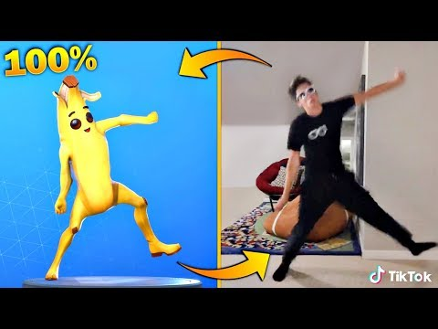FORTNITE DANCES IN REAL LIFE THAT ARE 100% IN SYNC! (Original Fortnite Dances in Real Life)
