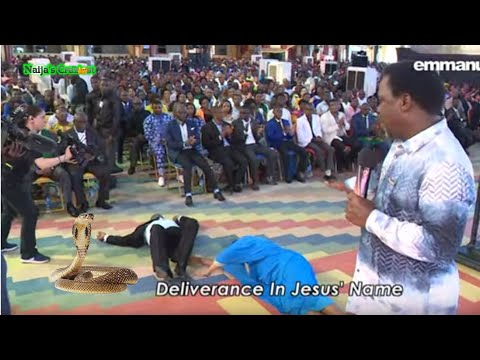The Day TB Joshua Caught FOUR SNAKES In Church!!! ???