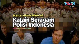 Tom Delonge Cari Masalah Ngatain Seragam Polisi Indonesia