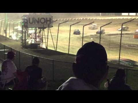 Andy Bibler Feature race Limaland Motorsports Park 7-3-15