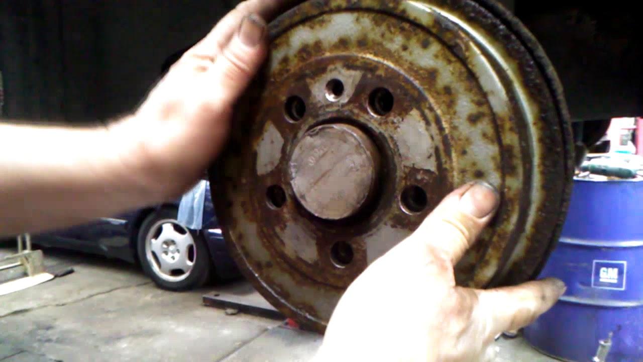 Vw Polo Rear Brake Nct Fail Repair Youtube