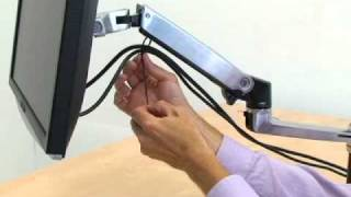 How to Install the Ergotron LX Arm
