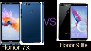 Honor 7x VS Honor 9 lite comparison