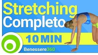 Stretching Completo Total Body: Esercizi di Allungamento Muscolare a Casa
