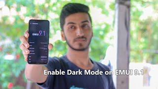 How to Enable Dark Mode on EMUI 9.1 - ft. Honor Play!!