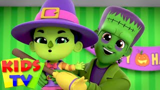 Peek a Boo | Chansons dhalloween | Bayi sajak | Kids Tv Indonesia | Puisi untuk anak