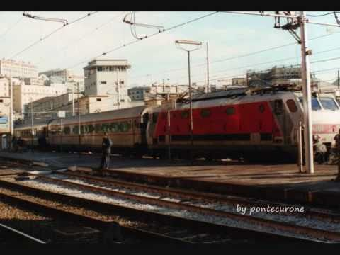 Foto treni anni 80