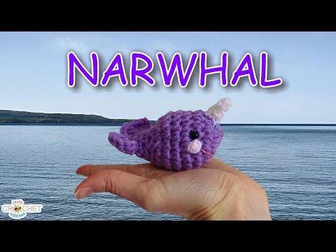 Crochet Amigurumi Narwhal Pattern