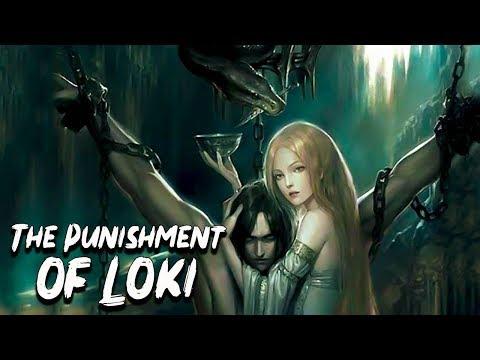 The Punishment Of Loki - Norse Mythology Stories - See U In History