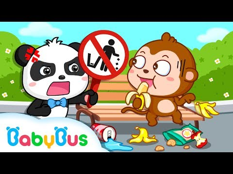 How To Care Of The Environment | Since Video For KIds | Animation For Babies | BabyBus