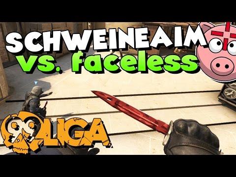 CS:GO - SCHWEINEAIM vs. faceless! - 99Damage Division 3.7 Spiel #01