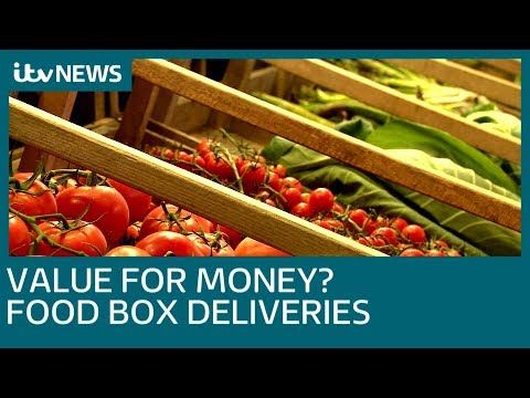 Value for money? Food Box deliveries | ITV News