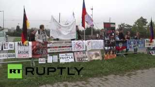 France: Anti-Kiev protesters set up camp outside European Parliament