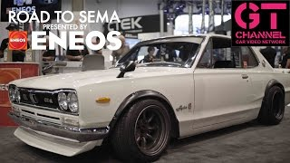 video thumbnail of Skyline Hakosuka and Top SEMA Tuners - Road to SEMA 2016 by ENEOS