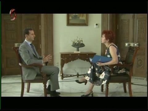 حوار الرئيس بشار الأسد مع صحيفة كومسومولسكايا برافدا الروسية