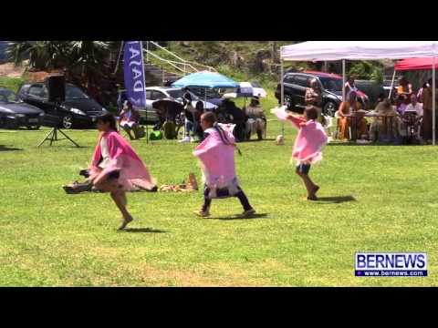 Dancing At Bermuda Pow Wow, June 22 2013
