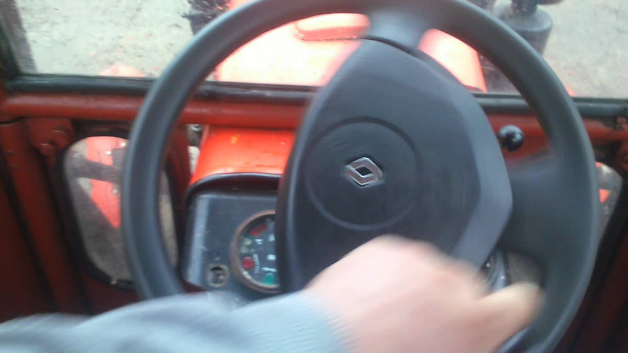 Ogromnie Wspomaganie elektryczne ursus c-330 z Renault scenic II X84 - YouTube GZ07