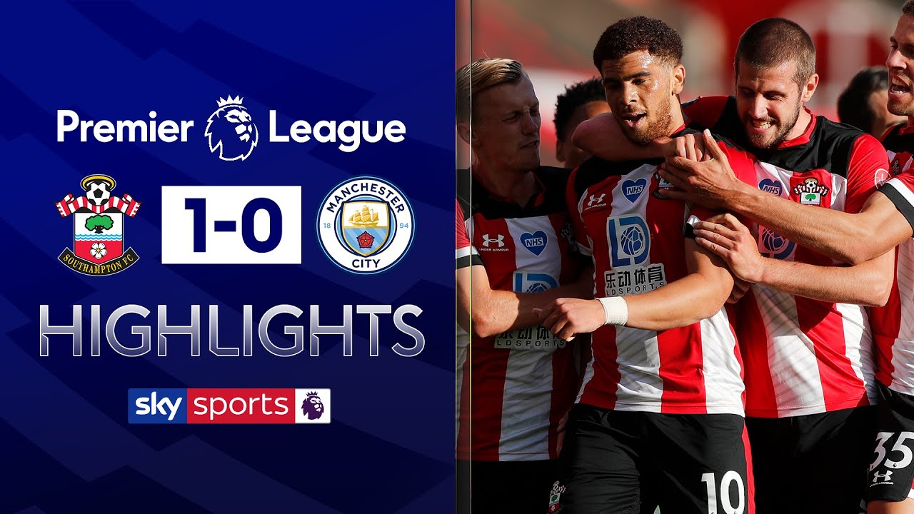 40-yard chip from Adams sinks Man City! | Southampton 1-0 Manchester City | EPL Highlights