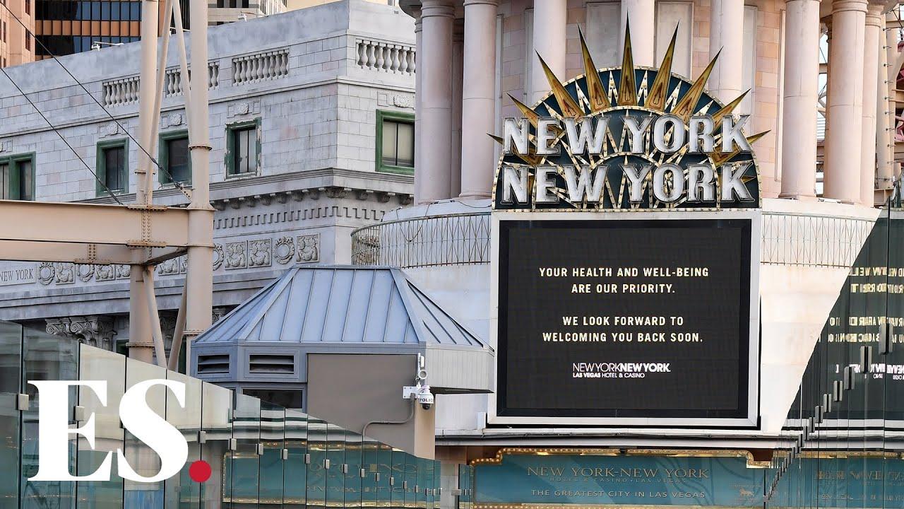 Coronavirus Us Vegas Casino Eerily Silent As Covid 19 Causes