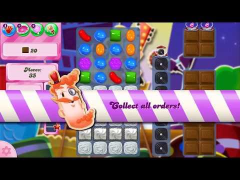 Candy Crush Saga Level 2533 (glitched level)