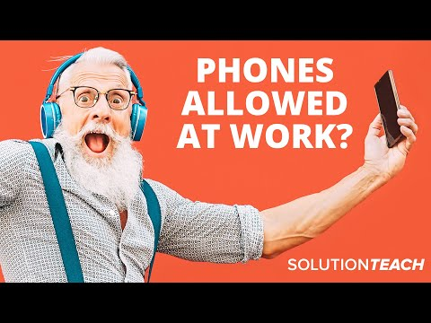 Cell Phones At Work? What's The Best Policy? SolutionTeach: FAQ - Episode 22