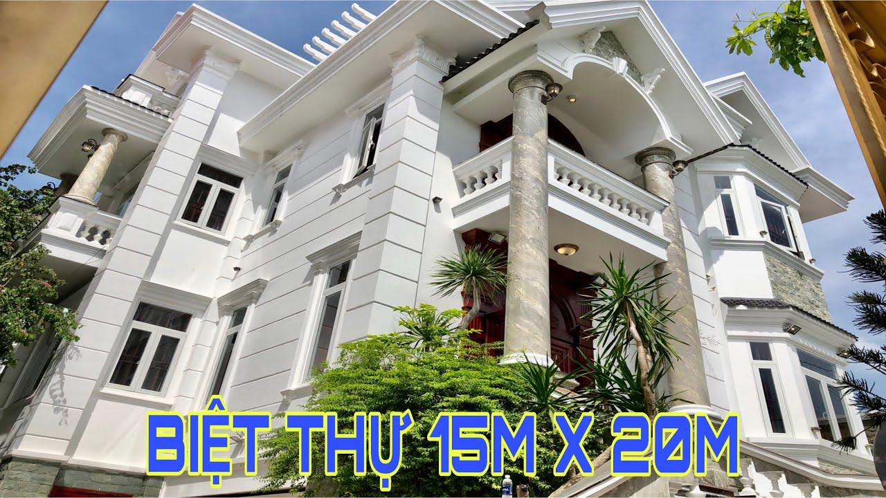 Biệt Thự Vườn Đẹp 15 x 20m 1 Hầm 2 Lầu Khu Biệt Thự khủng tại Hà Huy Giáp | bán nhà Gò Vấp | Quận 12