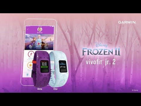 Garmin: Introducing the Disney Frozen 2 vívofit jr. 2 Kids Fitness Tracker