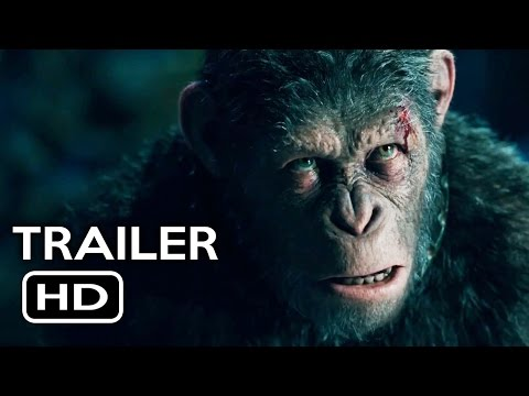 War for the Planet of the Apes Trailer #2 (2017) Action Movie HD