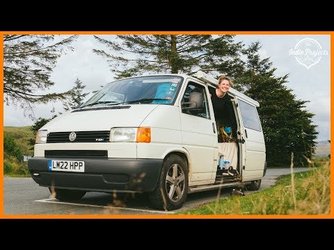 Wales is amazing for Van Life! (Exploring an abandoned quarry)