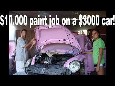 $10,000 dollar paint job on a $3000 car!