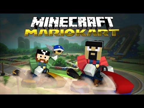 Custom Mario Kart Courses In Minecraft!