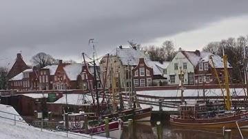 Winterspaziergang durch's Fischerdorf Greetsiel