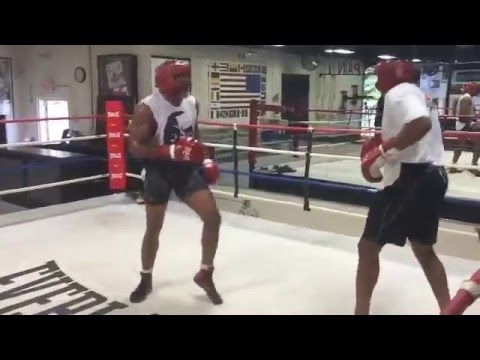 Shannon Briggs looking sharp for upcoming fight on David Haye undercard