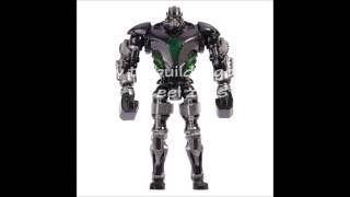 How to Build lego real steel zeus stop-motion build