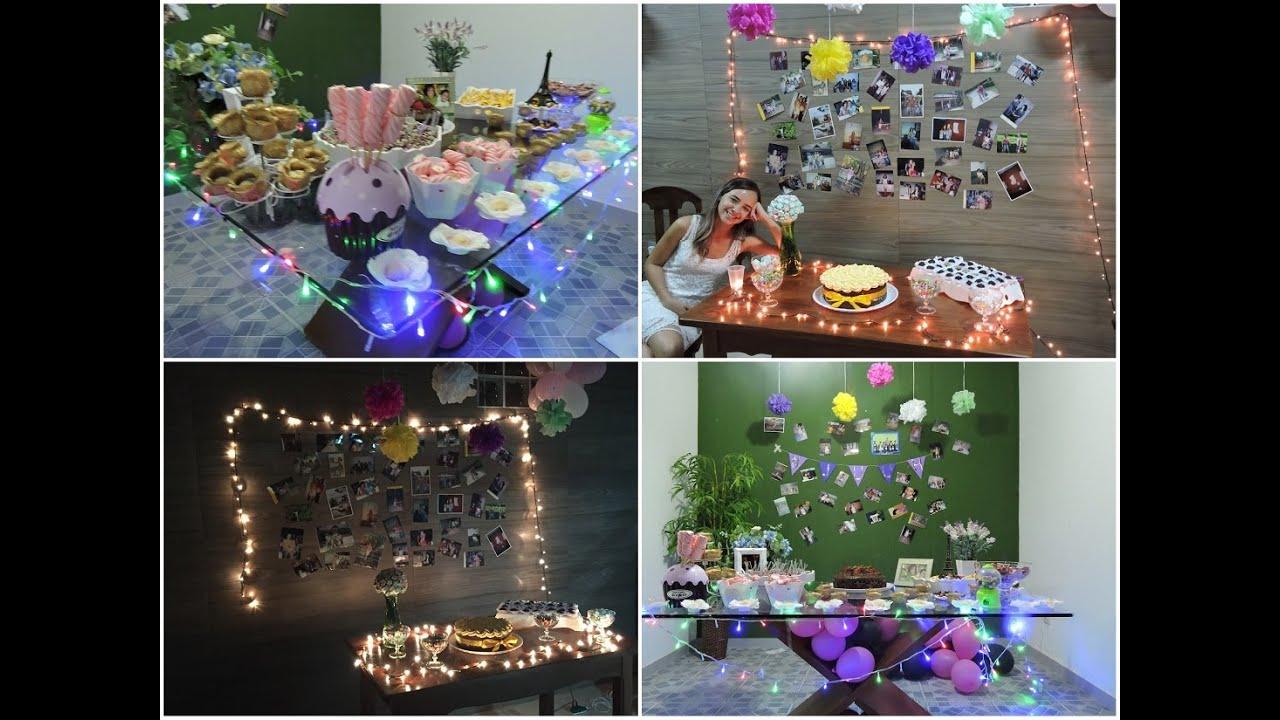 Dicas de decoração para festas gastando pouco  Juuh Teixeira