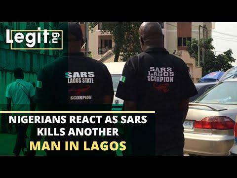 Nigeria news: SARS shoots unnamed man to death in Ilupeju | Legit TV