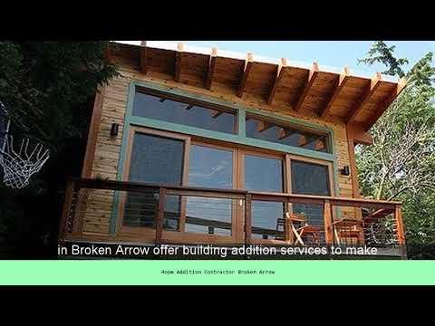 Room Addition Contractor Broken Arrow